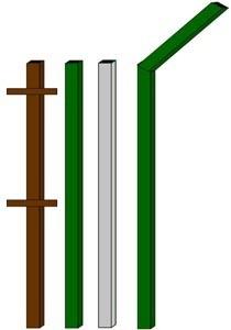 изготовление металлические столбы в Прокопьевске