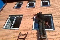 Монтаж решеток в Прокопьевске