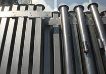 Металлические столбы в Прокопьевске изготовление и монтаж г.Прокопьевск